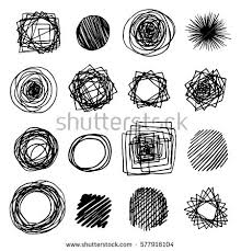 scribble circle stock images royalty free images u0026 vectors