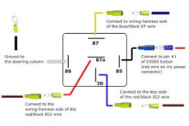 wiring diagram relay diagram wiring diagrams for diy car repairs