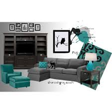 Teal Living Room Decor by Teal Black Gray I Think My New Color Scheme When I Re Do