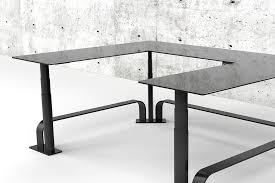 l shaped standing desk standing desks handcrafted in austin tx usa xdesk official site