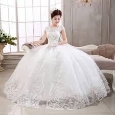 Short White Wedding Dresses 2015 New Korean Version Short Sleeve White Lace Princess Bridal
