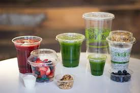 plastic cups with lids smoothie straws parfait cups juicing bottles eco friendly