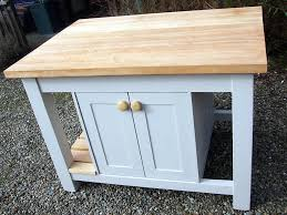 hand painted kitchen islands freestanding kitchen island incorporating double 600mm cupboards
