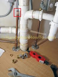 cabinet how to plumb in a kitchen sink kitchen sink plumbing