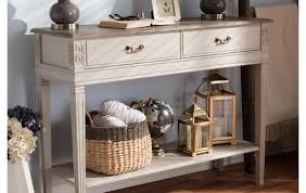 distressed white console table white distressed console table trends also half moon for