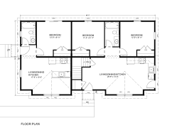 3 bedroom duplex floor plans