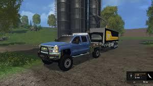 chevy truck car chevy silverado 3500hd car v1 0 farming simulator 2015 15 mod