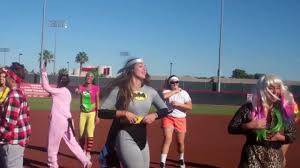 softball player halloween costume unlv softball gangnam style youtube