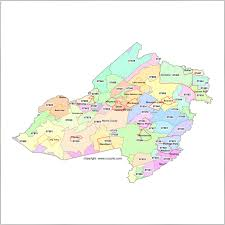 Maps With Zip Codes by Morris County New Jersey Zip Code Map