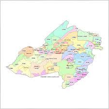 Zip Codes Map by Morris County New Jersey Zip Code Map