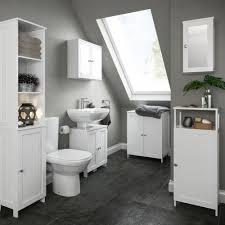 B Q Bathroom Storage Nicolina White Storage Unit Basin Unit Ranges And Basin