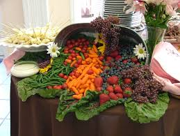 file cornucopia of fruit and vegetables wedding banquet jpg