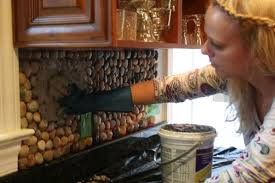 Kitchen Stone Backsplash by How To Create A Beautiful Stone Backsplash For The Kitchen
