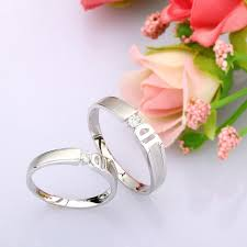 rings that say queenly his and gift rings 0 10 carat diamond on gold jeenjewels