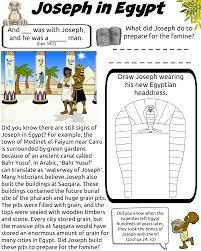 free bible worksheet joseph in egypt worksheets joseph and