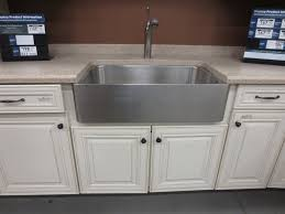 install some types stainless steel farmhouse sinks