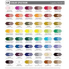amazon com liquitex basics acrylic paint tube 48 piece set arts
