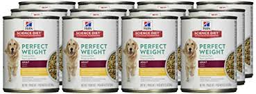 science diet perfect weight canned dog food 12 pack