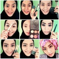tutorial make up wardah untuk pesta make up hijabers