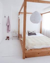 wooden four poster bed foter