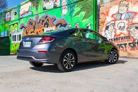 review 2014 honda civic coupe the truth about cars