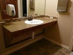 bathroom handicap wheelchair accessible ada bathroom vanity