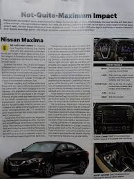 nissan altima 2016 customer review consumer reports review of 2016 8th gen maxima maxima forums