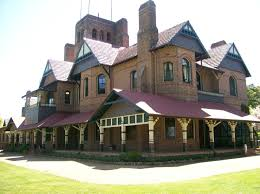 federation queen anne style federation home booloominbah by john horbury hunt une armidale southern elevation