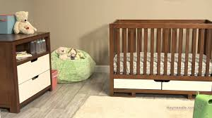 3 In 1 Convertible Cribs by Karla Dubois Oslo 3 In 1 Convertible Crib Collection Youtube