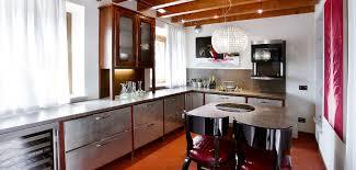 cuisine en aluminium contemporary kitchen aluminum composizione 49 meneghini