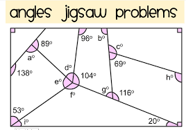 Interior And Exterior Angles Worksheet Projects Making An Angles Jigsaw