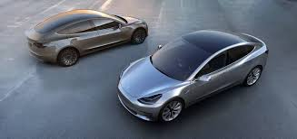 tesla model 3 gets rendered in dozens of colors looks good in all