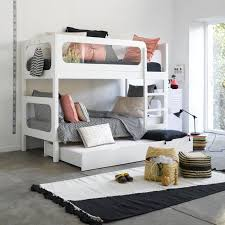 modern bunk bed modern bunk bed from france am pm kids kid s room pinterest