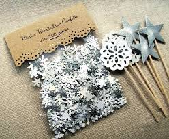 snowflake table top decorations snowflake wedding table decorations confetti merry tinyrx co