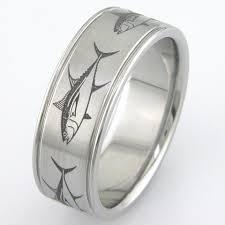 mens titanium rings the big fish ring unique titanium rings more titanium buzz
