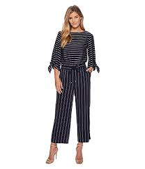 eileen fisher jumpsuit ralph striped satin jumpsuit at zappos com