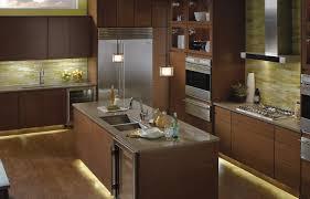 kichler led under cabinet lighting steel lily design layering light in interiors
