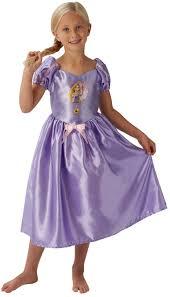 rapunzel girls fancy dress disney princess tangled book childrens