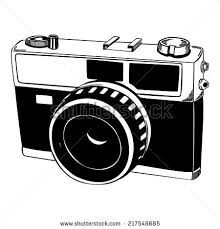 vector sketch retro camera stock vector 217548685 shutterstock