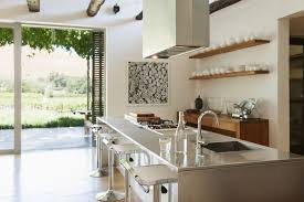 Modern Kitchen With Island How To Set Up Plumbing For A Sink In A Kitchen Island