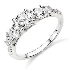 rings silver images Silver diamond wedding rings wedding ideas