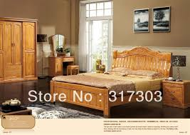 Solid Wood Contemporary Bedroom Furniture by Online Get Cheap Modern Wood Bedroom Furniture Aliexpress Com
