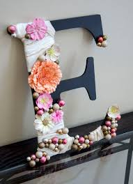 Monogram Letters Home Decor 12 Wall Letter E Nursery Home Decor Or Wedding By Mypulpart