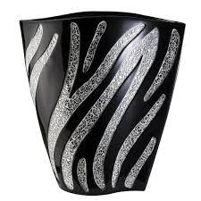 White Decorative Vase Zebra Decorative Vase Free Shipping Today Overstock Com 15729822
