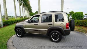 used jeep liberty rims 2004 used jeep liberty 4dr sport at royal palm nissan serving palm