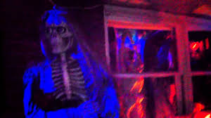 awesome halloween pictures awesome halloween yard display youtube
