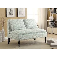 banquette settee blue right 2 home target