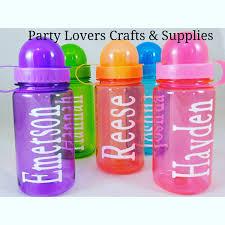 water bottle personalized kids 15oz water bottle water