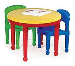 tot tutors table chair set tot tutors kids 2 in 1 plastic compatible activity table and 2