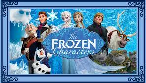 frozen characters love